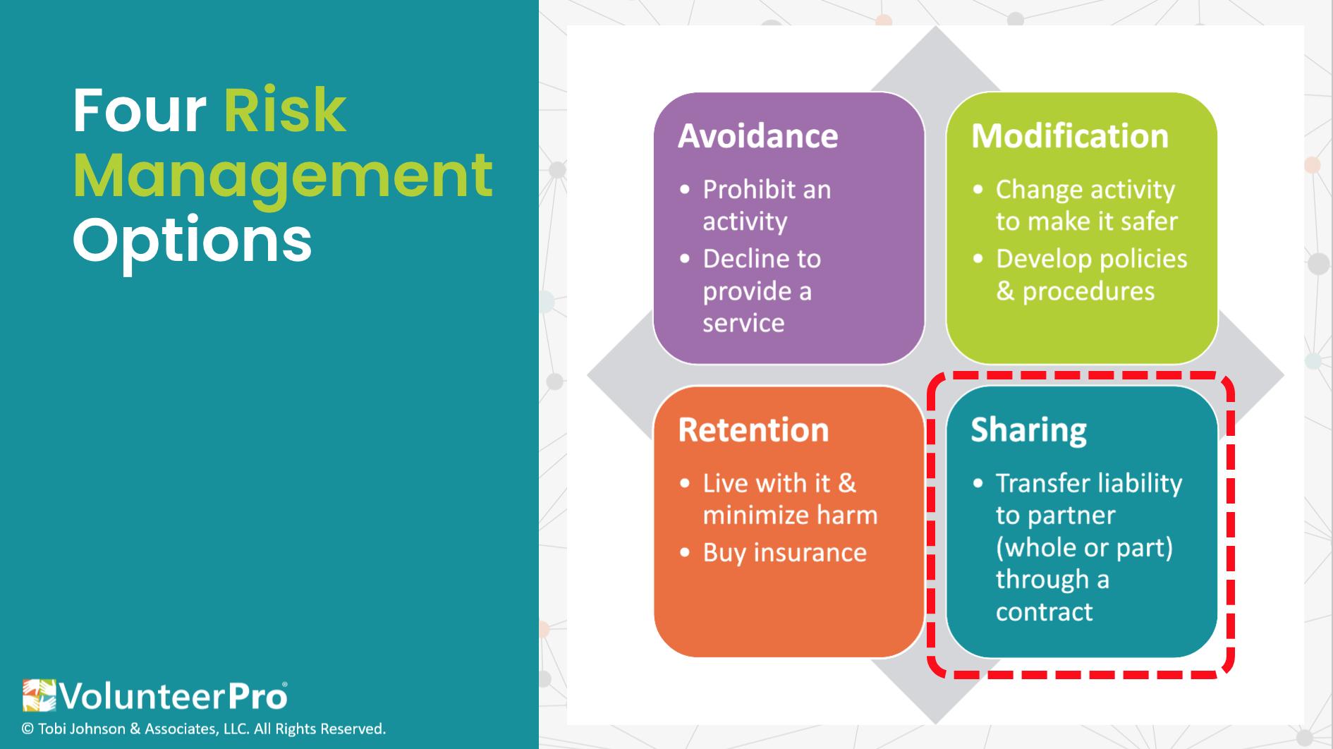 volunteer waivers risk management