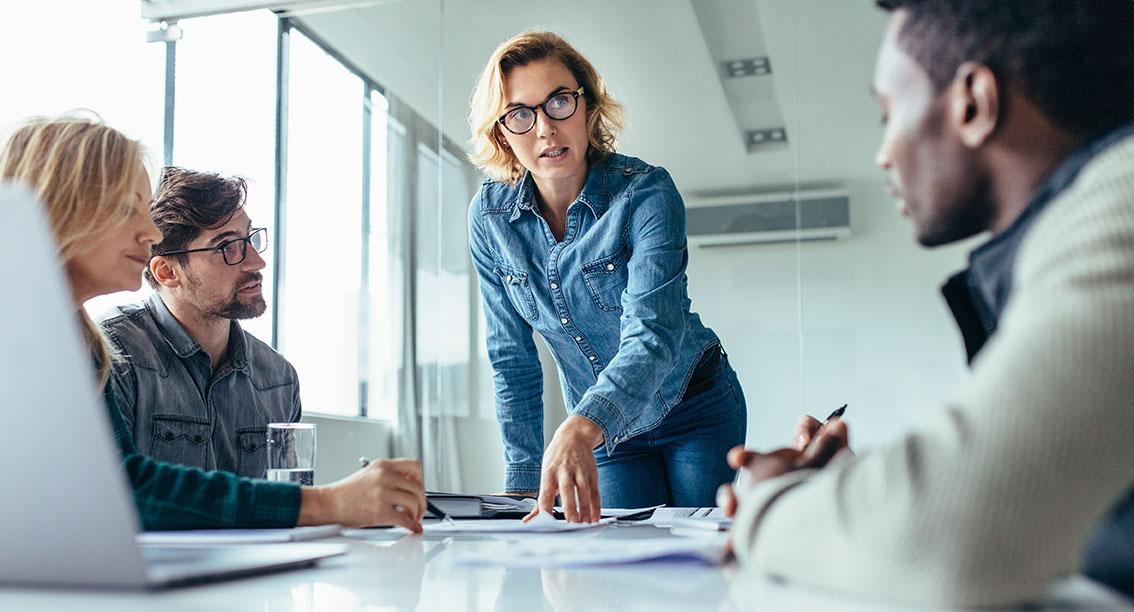 volunteer leadership development in a meeting room