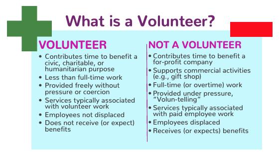 vlunteer stipends who is a volunteer